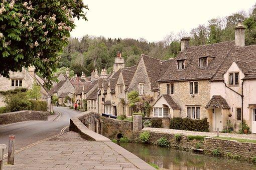 England, Village, Uk, Street Photography, Film Set