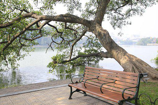 Hoan Kiem Lake, Hoguom, Ho Guom, Sword Lake, Hanoi