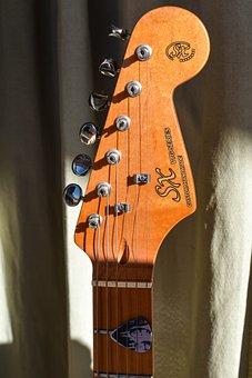 Guitar, Instrument, Music, Ropes