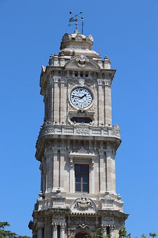 Time, Tower, Dolmabahçe, Architecture, Msn Letters