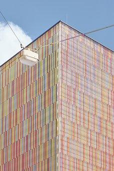 Building, Munich, Colorful, Architecture, Facade