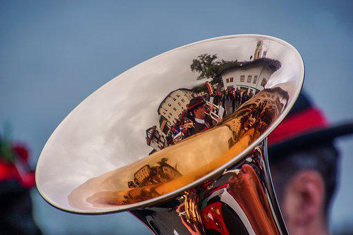 Trumpet, Band, Musician, Tyrolean, Austria, Music, Tool