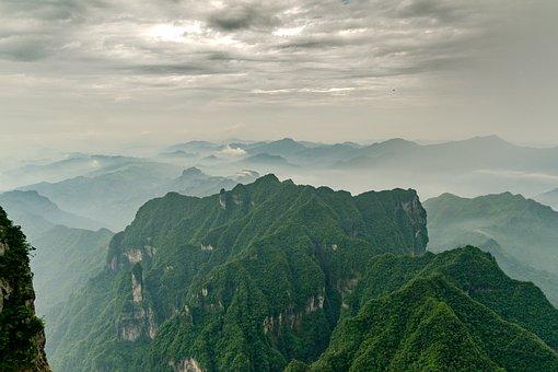 China, National Park, Landscape, Nature, Stone, Travel