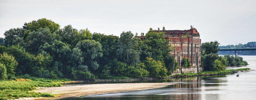 Narev, Water, Beach, River, Poland, Landscape, Nature