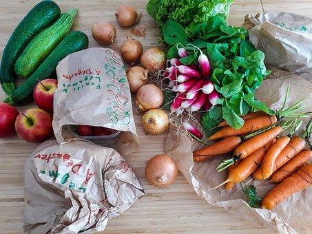 Vegetables, Fruit, Power, Nature, Health, Vitamins