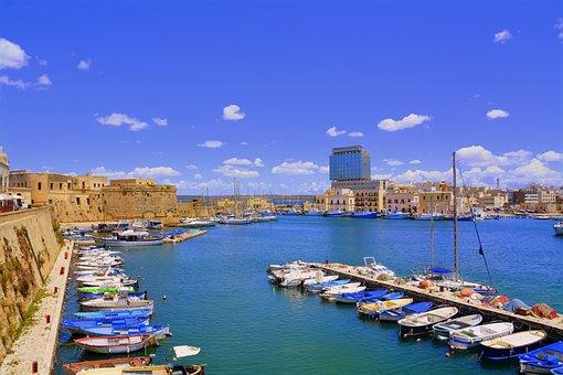 Porto, Gallipoli, Salento, Puglia, Sea, Italy, Sky