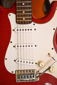 Guitar, Ropes, Instrument, Music