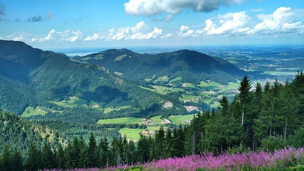 Under The Mountain, Ruhpolding, Chiemgau, Alpine