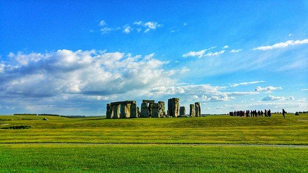 Stonehenge, Salisbury, Wiltshire, England, Uk