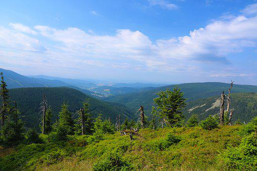 Landscape, View, Mountains, Summer, Nature, Panorama
