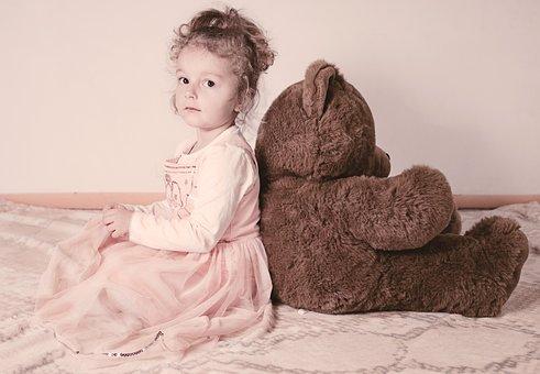 Child, Teddy, Girl, Toys, Cute, Baby, Teddy Bear