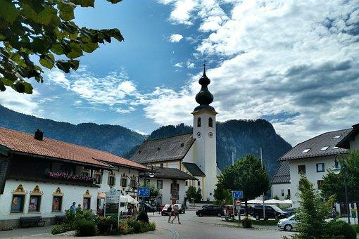 Inzell, St, Michael, Church, Upper Bavaria, Traunstein