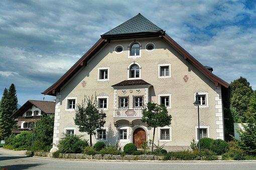 Inzell, Hofmark Judges House, Monument, Upper Bavaria