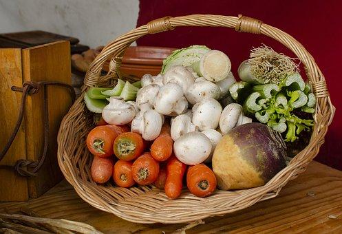 Vegetable, Vegetables, Basket, Healthy, Fresh