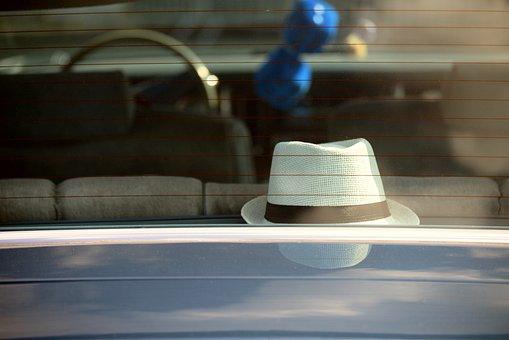 Auto, Rear Window, Parcel Shelf, Oldtimer, Disc