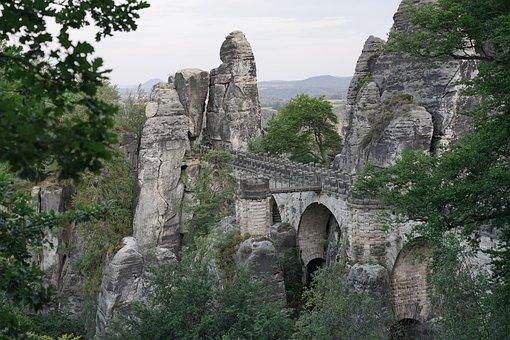 Bastei, Saxon Switzerland, Elbe Sandstone Mountains