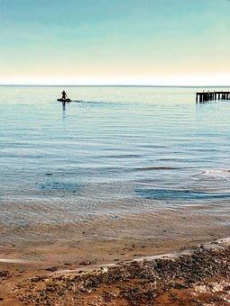 Beach, Sea, Blue, Summer, Holiday, Sky, Costa, Waves