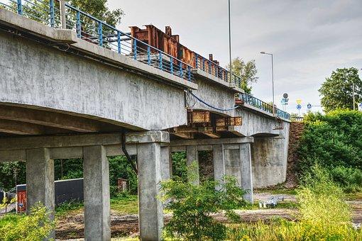Bridge, Repair, Modlin, Fortress, The Viaduct, Building