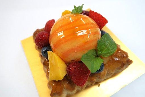 Birthstone, Fruit, Sweet, Dessert, Cake, Pie, Food