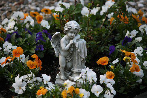 Cemetery, Angel, Mourning, Sculpture, Statue, Death