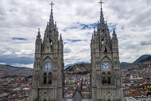 Quito, Ecuador, Church, Cathedral, City, Architecture