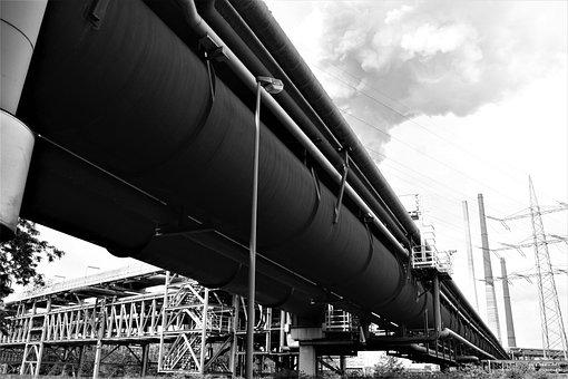 Ruhr Area, Coal Pot, Blast Furnace, Steel Mill