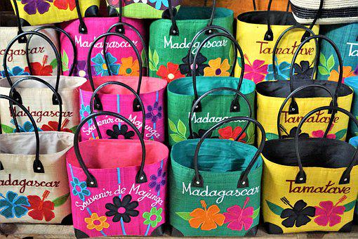 Bag, Madagascar, Colorful, Color