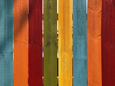 Fence, Wood, Texture, Boards, Colorful, Structure