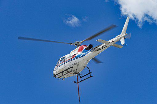 Helicopter, Rotor Blades, Rotor, Flying, Propeller