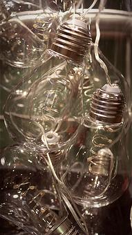 Light Bulbs, Bulbs, Glass, Metal, Light, Lamp, Energy