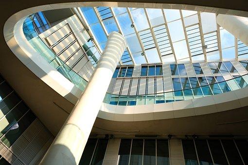 Architecture, Modern, City, Window, Structure, Glass