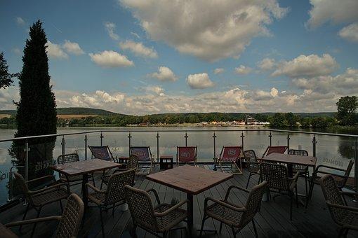 Hohenfelden, Reservoir, Thuringia Germany, Germany