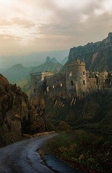 Castle, Fantasy, Medieval, Dream, Mysterious