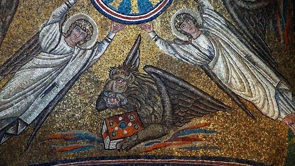 Ravenna, Italy, Mosaic, Cappella Sant'andrea, Church
