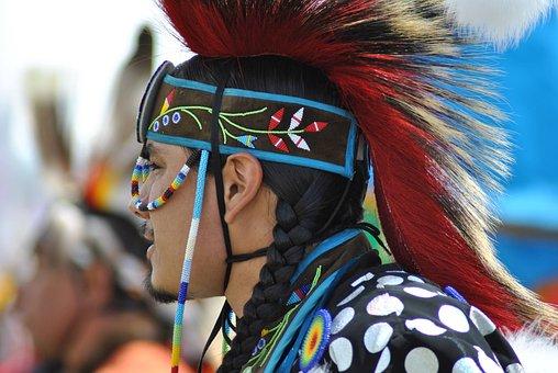 Pow Wow, Indigenous, Dance, Regalia, Native American