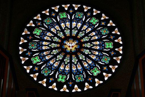 Window, Church Window, Church, Religion, Christianity