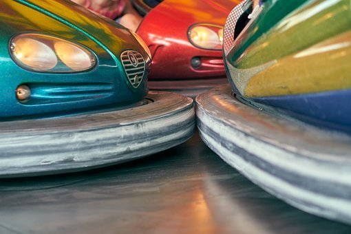 Bumper Cars, Box Car, Fair, Kerwe, Ride, Fairground