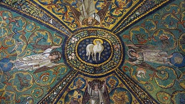 Ravenna, Italy, Mosaic, San Vitale, Church