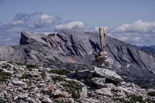 Stonestacking, Stones, Mountains, Balance, Nature
