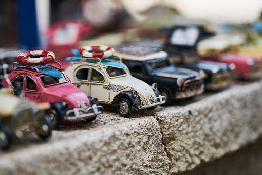 Car, Model, Toy, Old, Nostalgia, Retro, Transportation