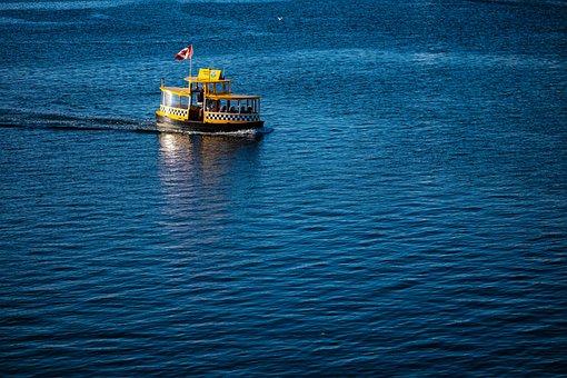 Water, Taxi, Victoria, Canada, British Columbia, Boat