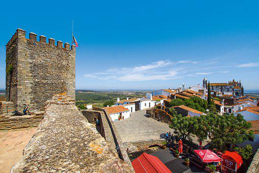 Monsaraz, Alentejo, Portugal, View, Vacations, Europe