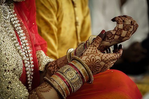 Indian, Henna, Wedding, Bridal, Mehndi, Bride, Culture