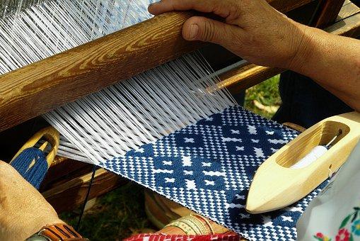 Handicraft, Weaving, Loom, Wool, Work, Weaver