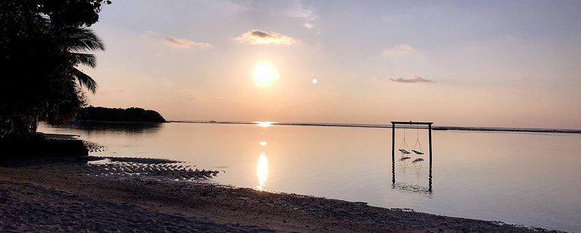 Sunset, Beach, Ocean, Sea, Sunrise, Water, Summer, Dusk