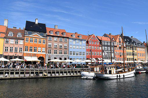Copenhagen, Denmark, City, Kobanhavn, Port, Cities