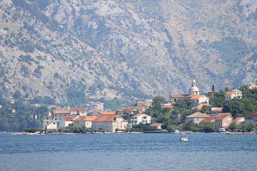 Montenegro, Tivat, Kotor, Adriatic, Bay, City