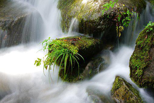 Valley, Water, Clean, Mountain, River, Nature, Scenery