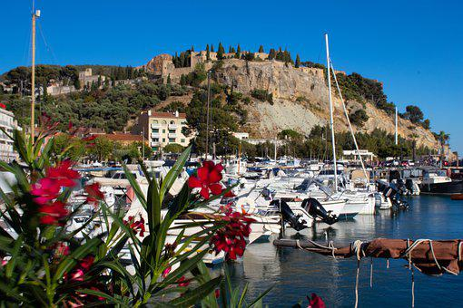 Cassis, France, Provence, Mediterranean, Sea, Cliff