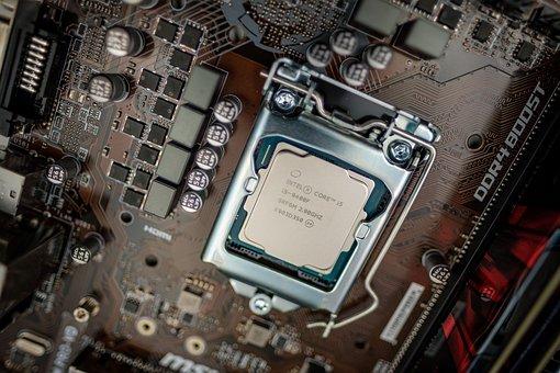 Cpu, Processor, Chip, Motherboard, Board, Pc, Computer